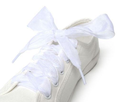 Chiffon Sneaker Sport Fantastic Silk Shoes Flat Shoelaces Laces
