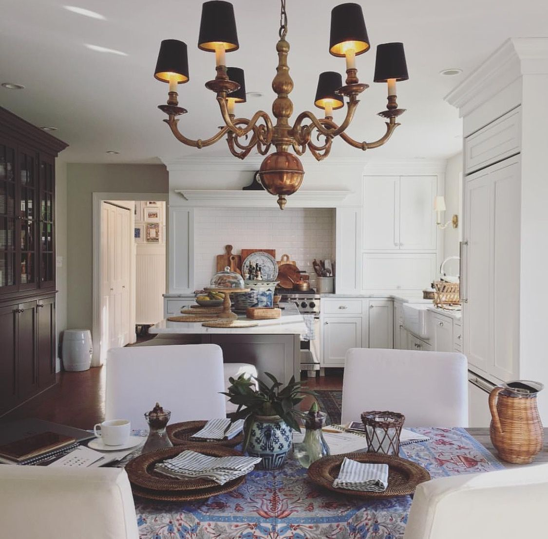 Can White Kitchen Cabinets Be Repainted: Kitchen Goals Via Maura Endres