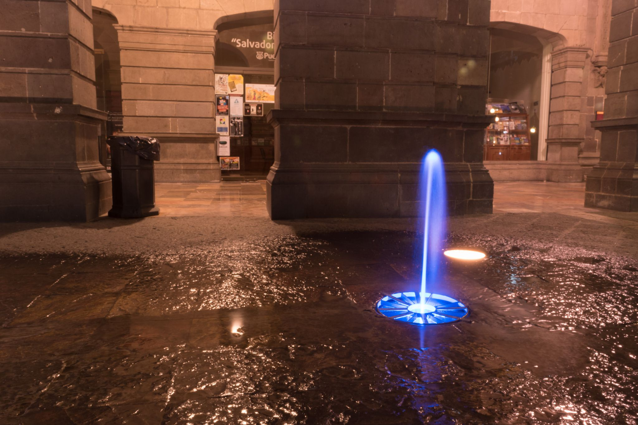 The Laser Fountain.jpg - The Laser Fountain