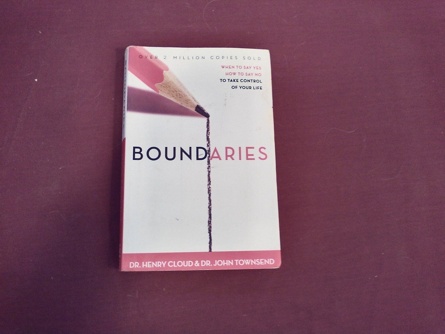 boundaries when to say yes how to say no to take control of your life
