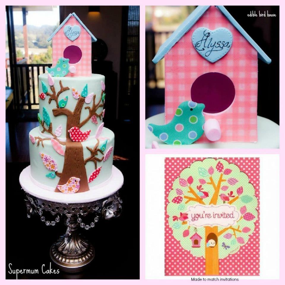 Amazing bird cake