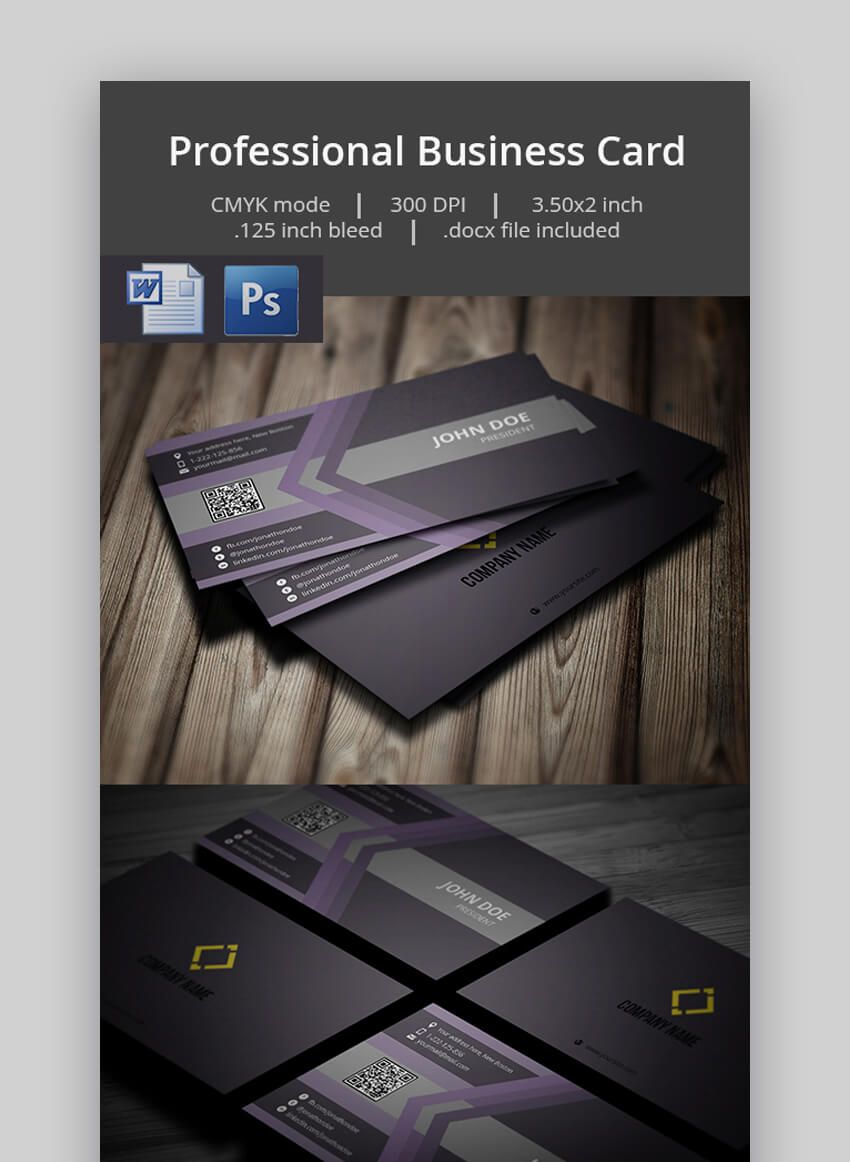25 Free Microsoft Word Business Card Templates Printable Intended For Micro Card Templates Printable Free Business Card Templates Business Card Template Word