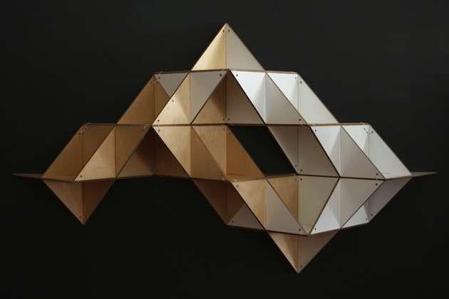 Modular Origami Storage House Pinterest Modular Origami