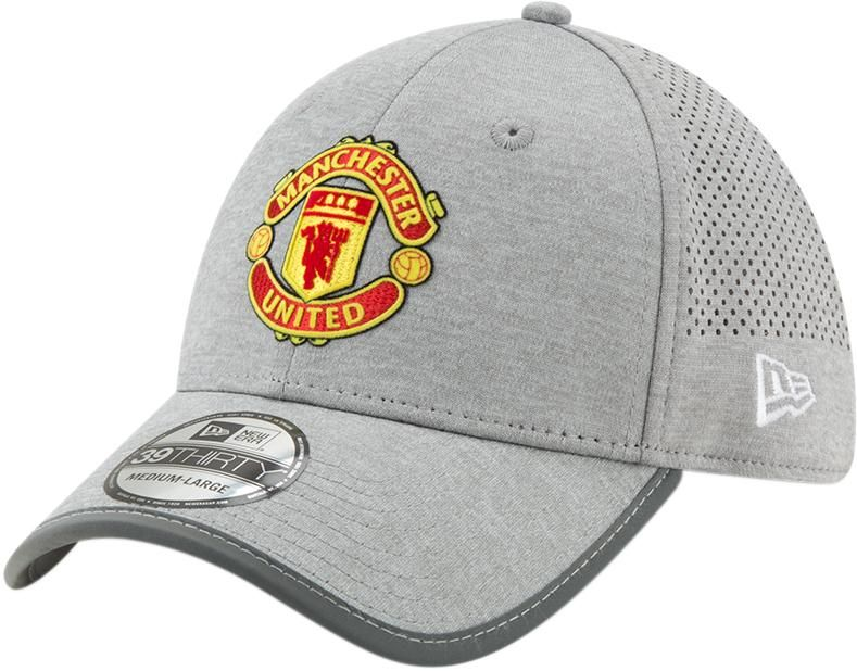 044be55d68da1 Manchester United New Era 3930 Jersey Marl SP19 Grey Stretch Fit Cap –  lovemycap