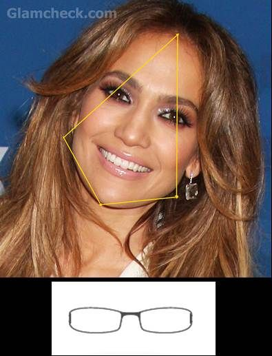 Jennifer Lopez Face Shape | one of the rarest face shapes this shape is marked with broad cheeks ...