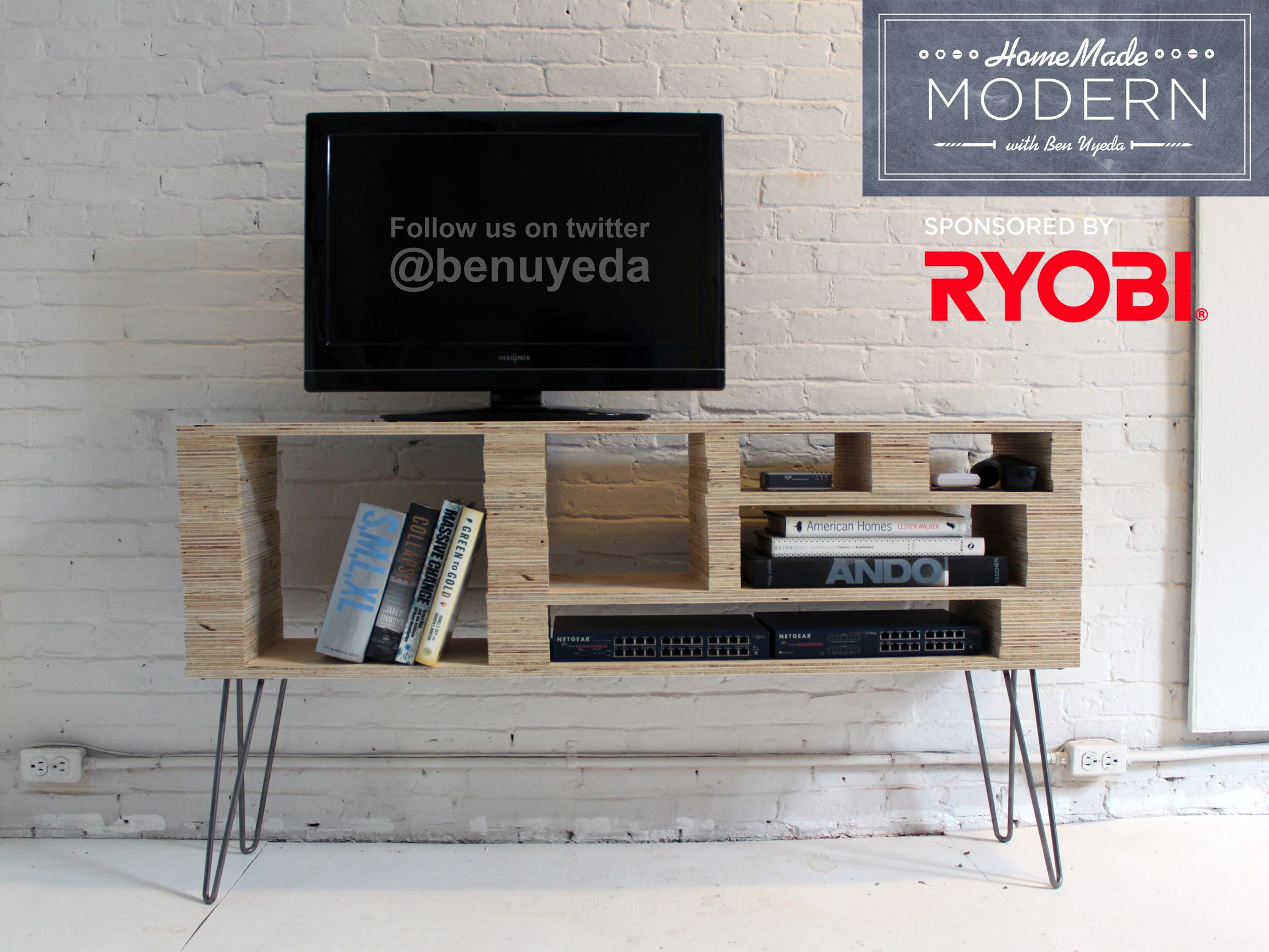 Diy Tv Stand Media Center From Ben Uyeda Homemade