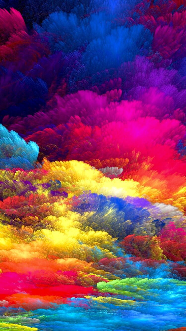 Colors Background Abstract Lucky Colour Art