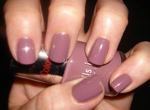 Nails Inc Heather Grey Nail Polish