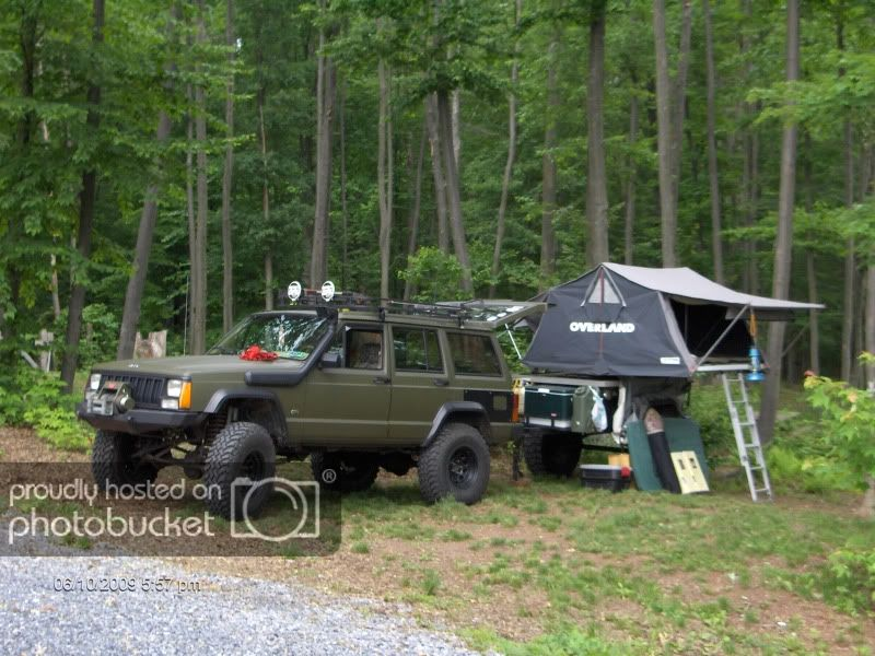 Overland 1 8 Roof Top Tent Naxja Forums North American Xj Association Jeep Xj Jeep Suv Jeep Camping