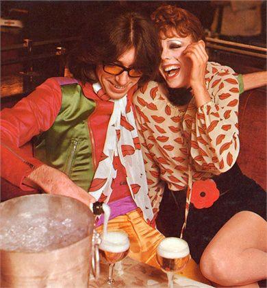 Yves Saint Laurent,  Vogue Italia, February 1971, Photo By Chris Von Wagenheim