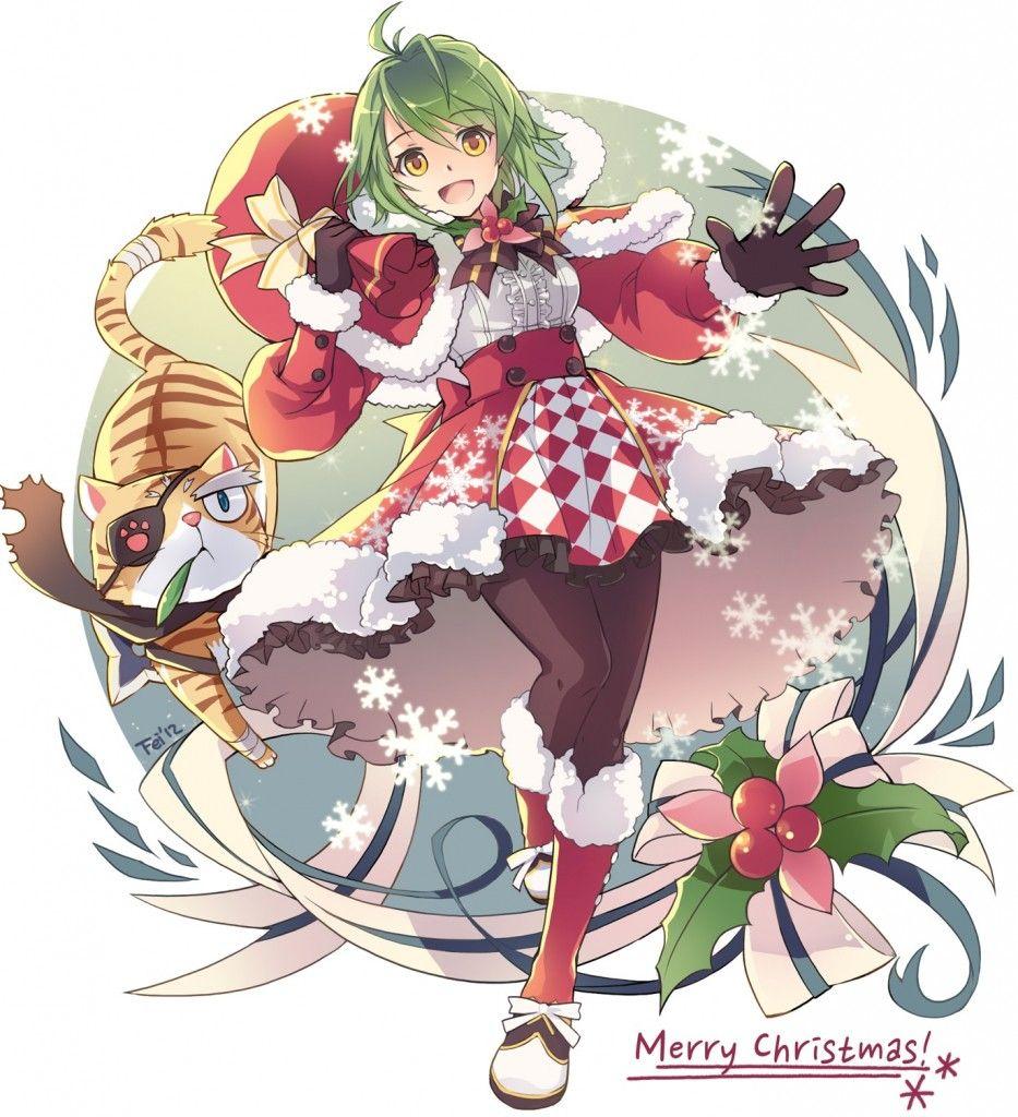 Merry Christmas Anime.Anime Girl Merry Christmas Anime Xmas Anime Anime