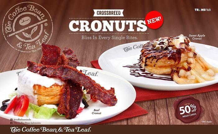 The Coffee Bean Amp Tea Leaf Promo Cronuts Discount Up To 50 Bank Mega Coffeebeanindo