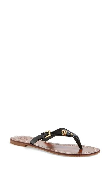 ce21fd901988 Tory Burch  Monogram  Customizable Sandal (Nordstrom Exclusive) available  at  Nordstrom Camellia Pink