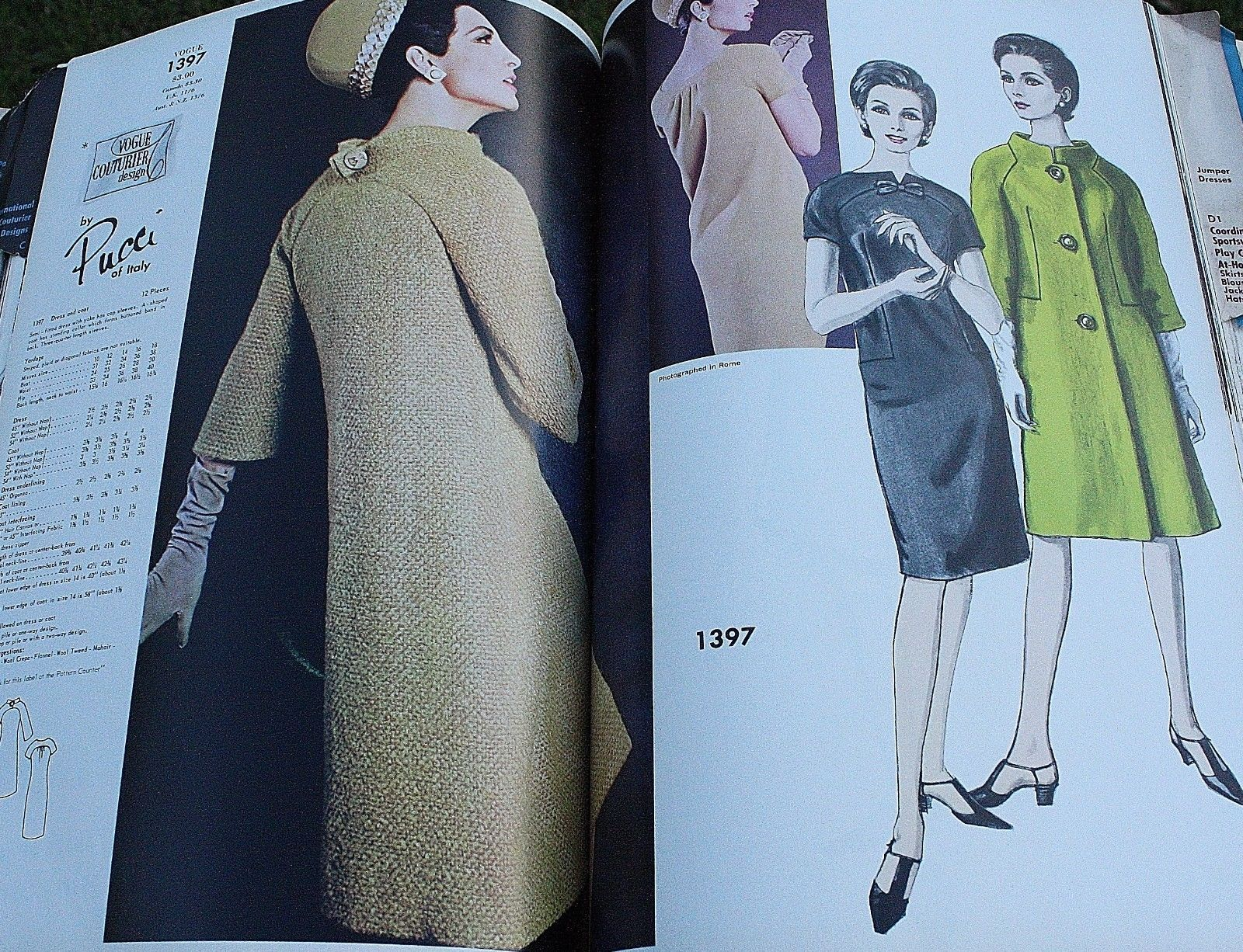 Vogue 1397 by Pucci, March 1965 retail catalogue