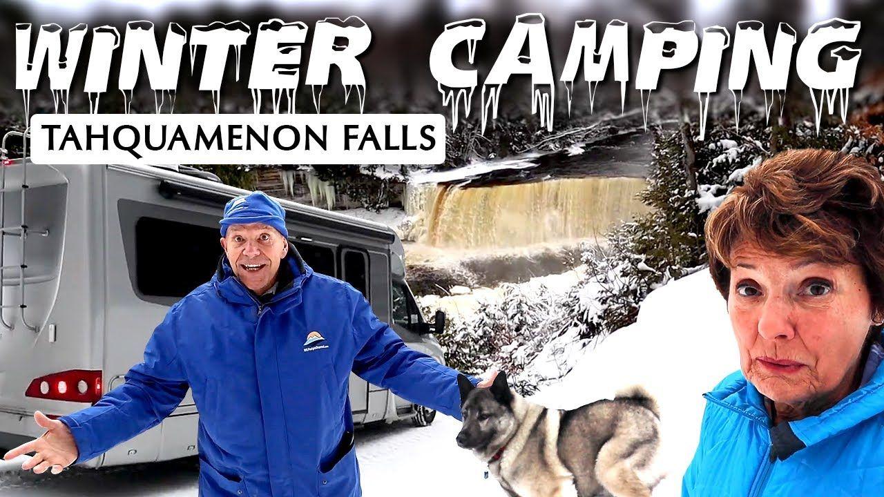 Winter Camping in Michgan's Upper Peninsula in 2020 ...