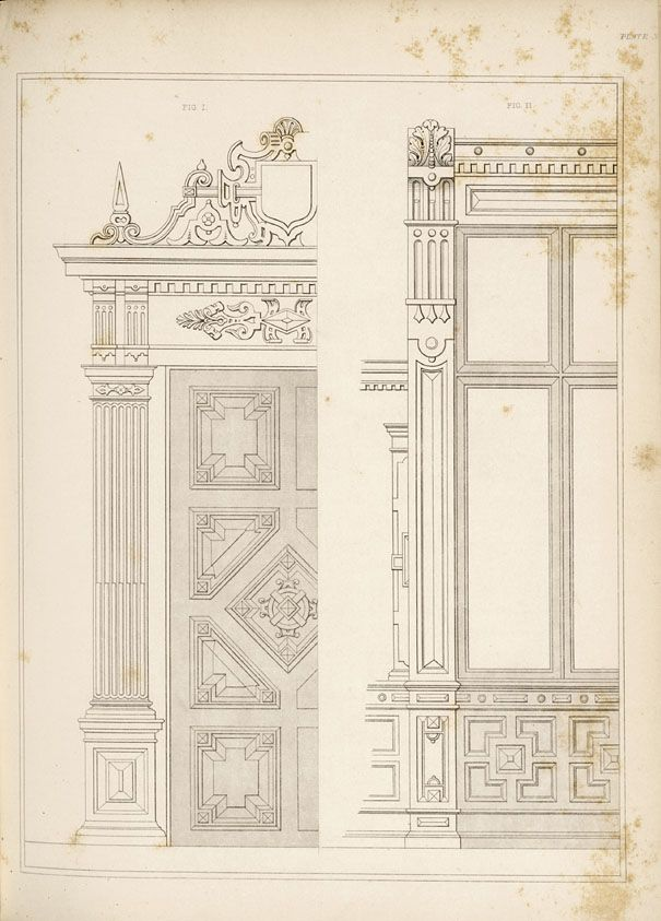 1840 Interior Design: Arrowsmith, Henry William / The House Decorator And