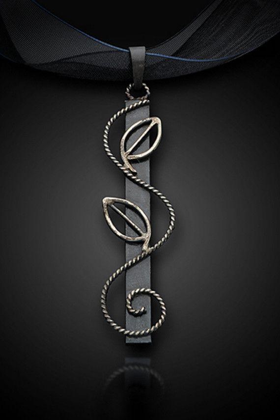 Eve Nouveau Pendant by blazerarts