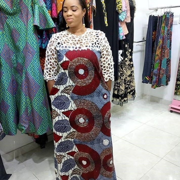 There are a lot of ways to make yourself look fabulous with an aso ebi styleNigerian Yoruba dress styles , Even if you are reasoning on what to create and slay with an Asoebi style. Nigerian Yoruba dress styles for events arrive in many patterns and designs.   The African dress styles beauty of this print is that it comes in many designs and textures. Ankara will permit you make a permit of any cloth without losing the Ankara designs flair. #nigeriandressstyles There are a lot of ways to make yo #nigeriandressstyles