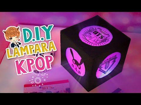 Diy kpop crea tu propia lampara de grupos kpop decora tu for Crea tu cuarto