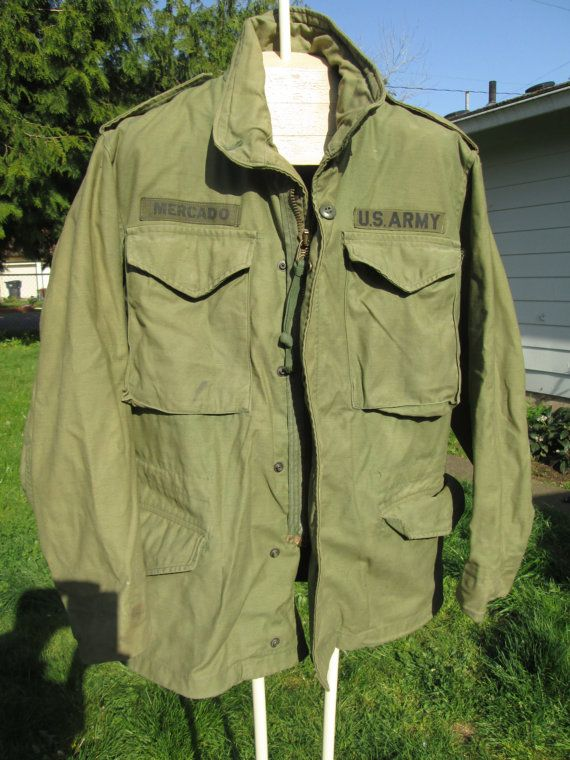 VTG US Army Vietnam Alpha Industries M65 1972 Field by Simplemiles ... ab933591069