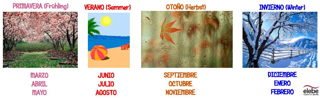 Primavera Verano Otono E Invierno Espagnol