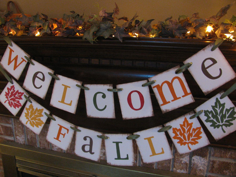 fall banner welcome fall fall banners pinterest fall banner