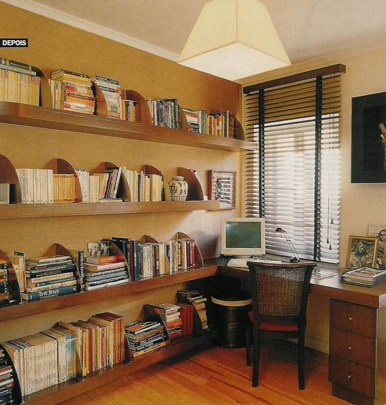 20 Home Office Bookshelves Designs Ideas: Home Office Shelves, Removable Dividers Great Idea! Www