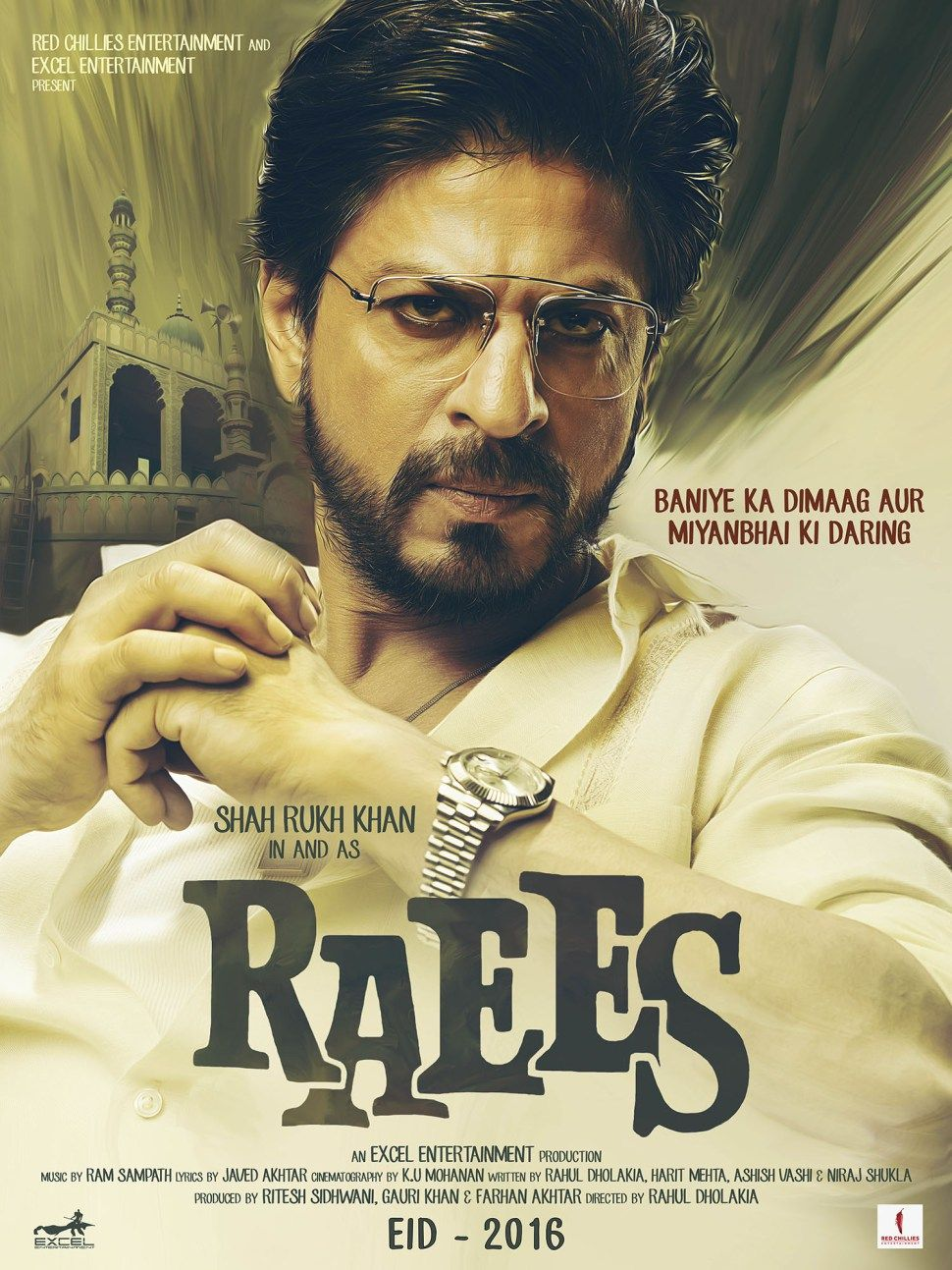 Raees Movie First Look Poster (Hindi) Full movies online