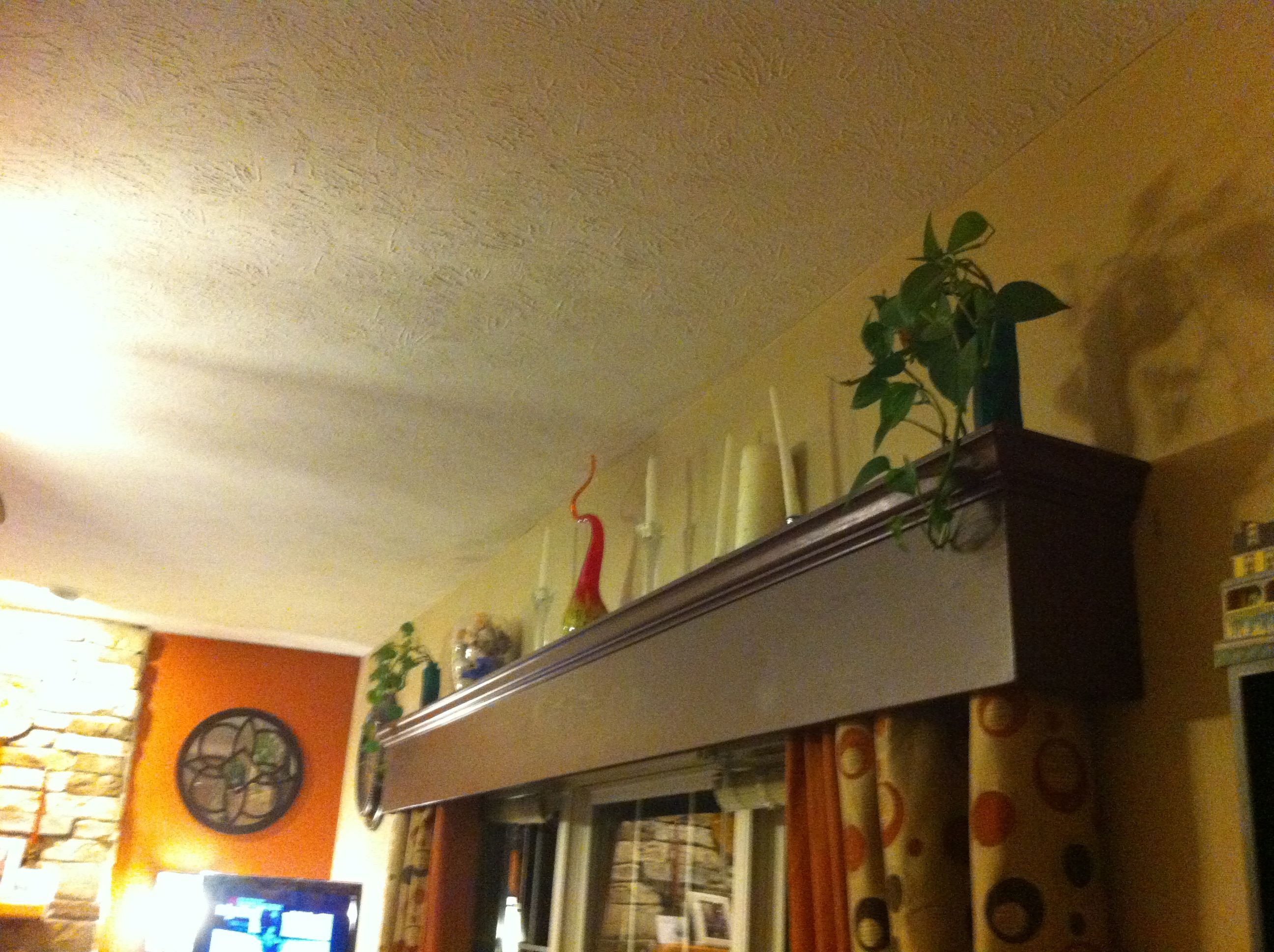 Wooden triple window cornice  Tips measure and Home depot cut the