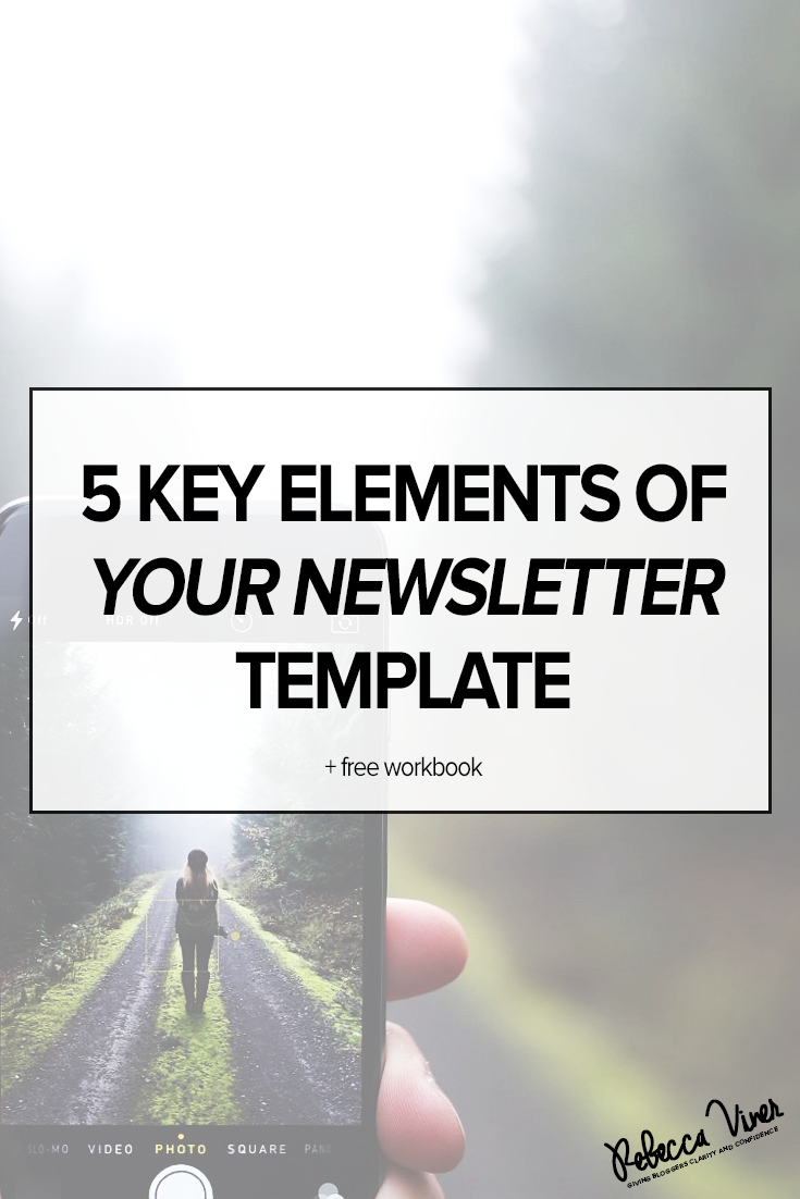 Five Key Elements of Your Newsletter Template | Email Marketing ...