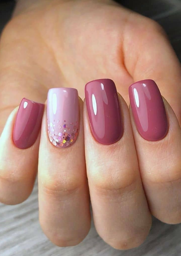 Photo of 60 Pretty Pink Short Square Nails for Spring Nails Design Latest Fashion Trends …