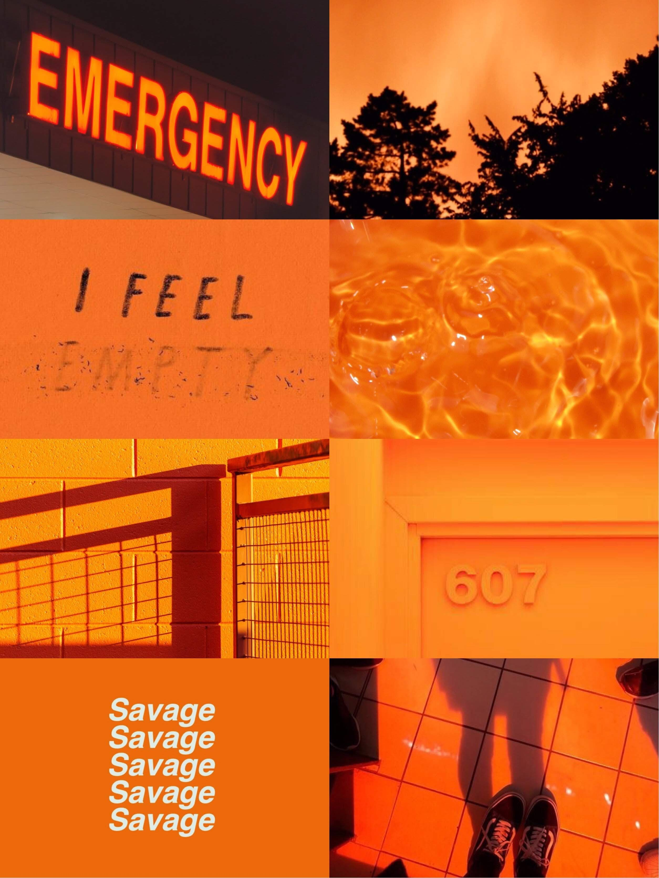 Fondo Aesthetic De Color Naranja Naranja Fondo Fondos De Pantalla De Iphone Fondos Para Fotos Tumblr
