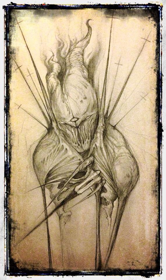 Shawn Coss   art   Arte horror, Dibujos surrealistas