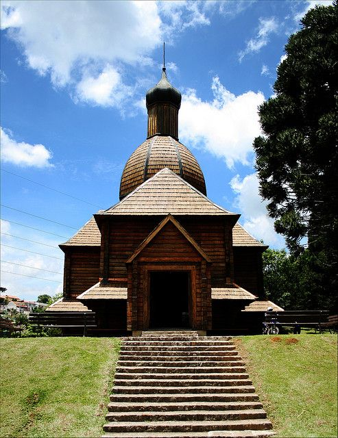 Memorial Ucraniano - Ukranian Memorial, Curitiba, Paraná, Brazil   by Rafa from Brazil, via Flickr.