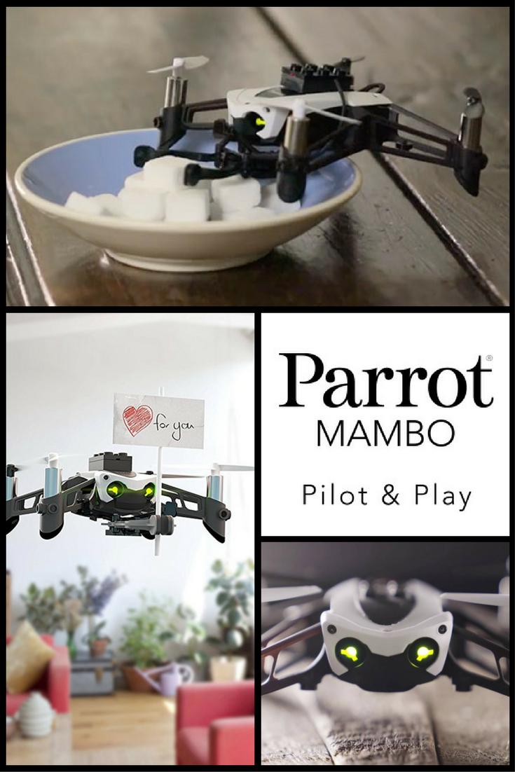 Parrot Minidrone Mambo With Cannon And Grabber Amazon Group Board Minidrones Hydrofoil Drone Orak