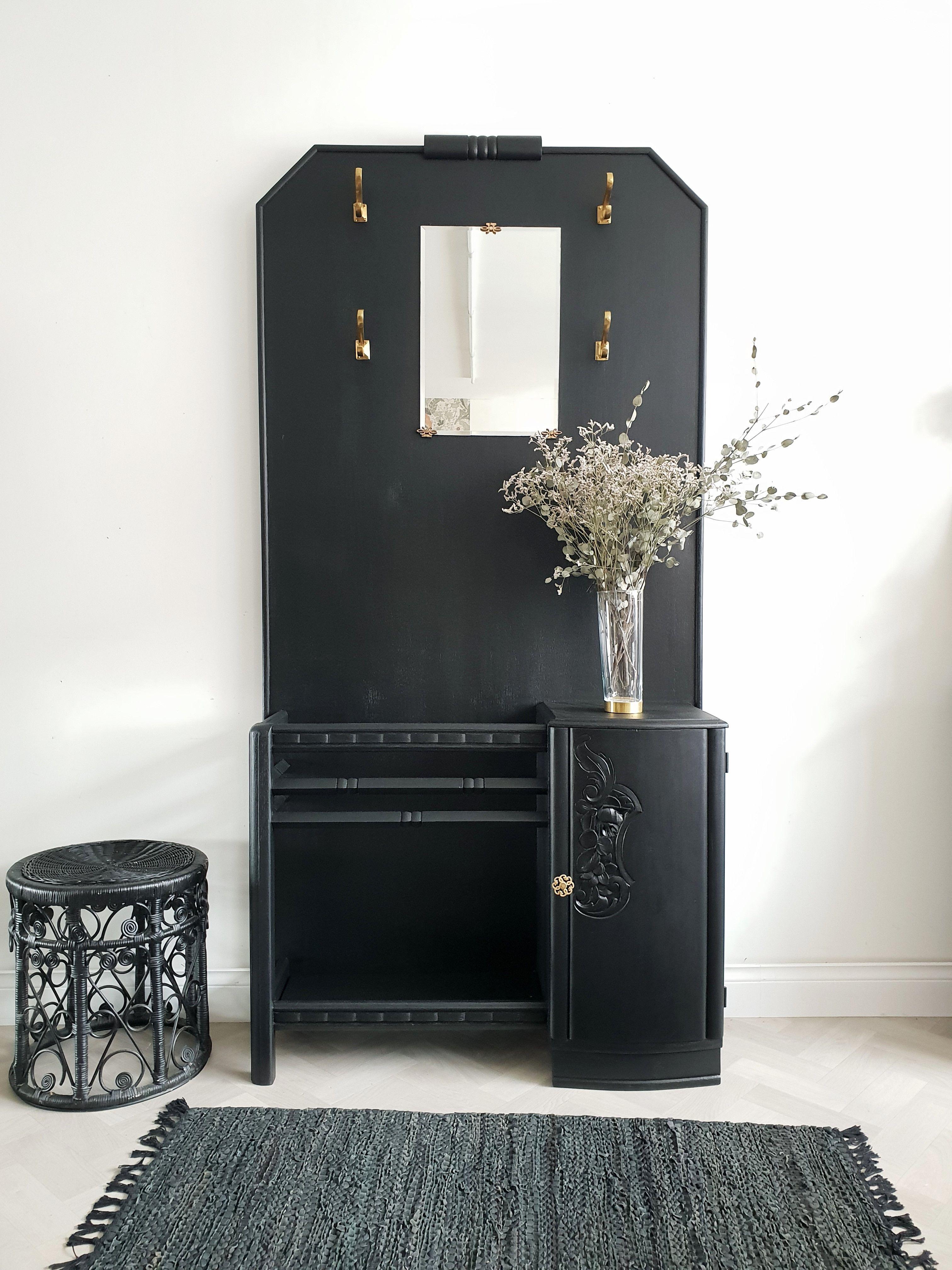 Porte Manteau Art Deco En 2020 Art Deco Deco Deco Vintage