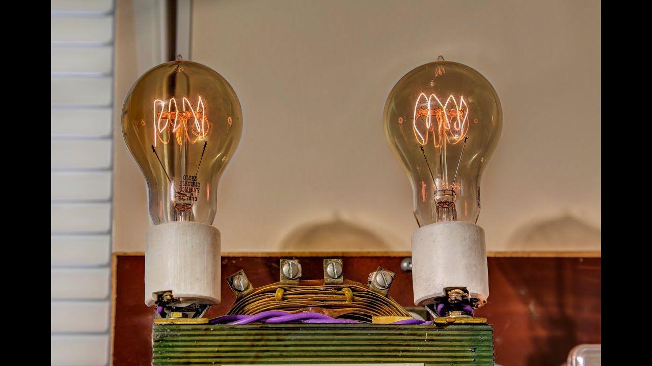 Big Dim Bulb Tester With Variac And Isolation Transformer