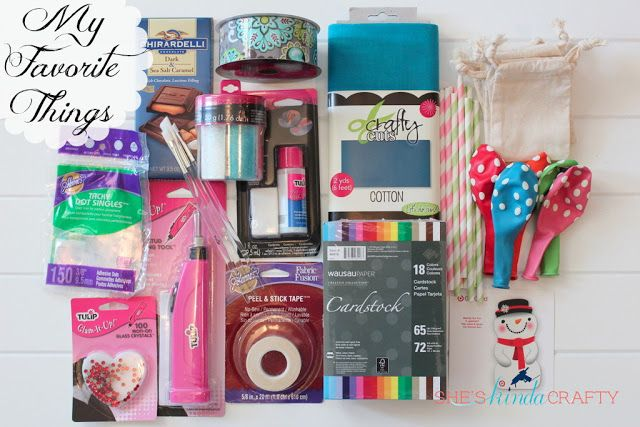 She's {kinda} Crafty: Wednesday Giveaway | My Favorite Things