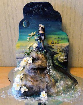 Por Dios! Si esto es un cake, quien sería el cavernícola que se atreviera a cortarlo para COMERSELO?????