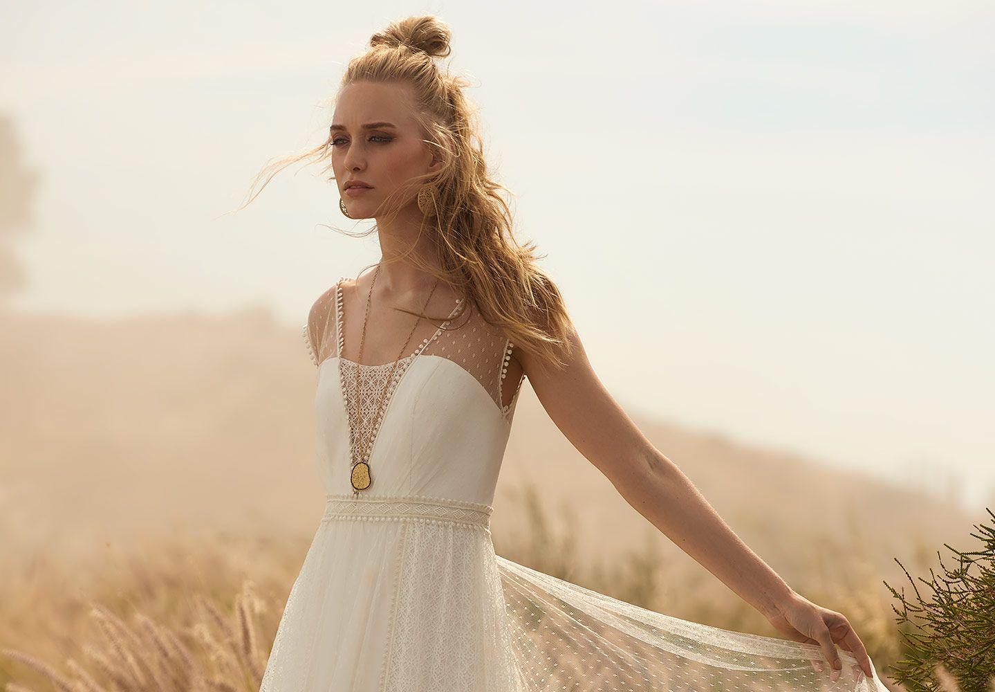 Collections  Kleid hochzeit, Hippie hochzeitskleid, Brautkleider 11