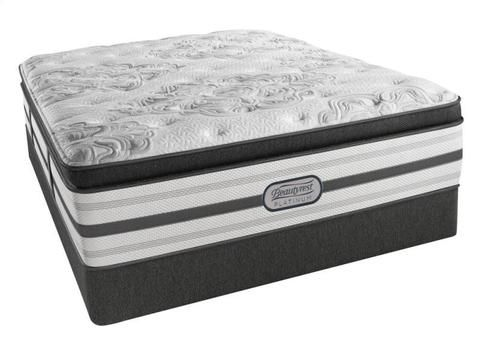 Simmons Beautyrest Platinum Miriam Plush Pillow Top Roanoke