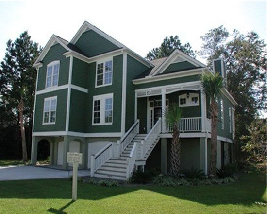 Default Image Of The Tidewater House Plan Number 844 C Dream House House Plans House
