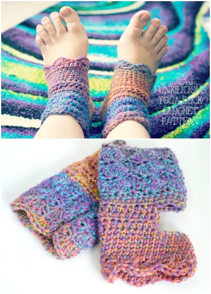 Crochet Socks - 35 Free Crochet Socks Pattern | tejido | Pinterest ...
