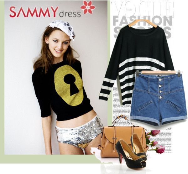 """""""sammydress casual day"""" by sammydress-official ❤ liked on Polyvore"""