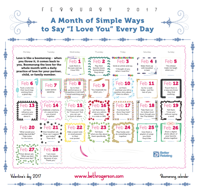 """Free Download Things To Say To Your: FREE DOWNLOAD: 28 Ways To Say """"I Love You"""" This February"""