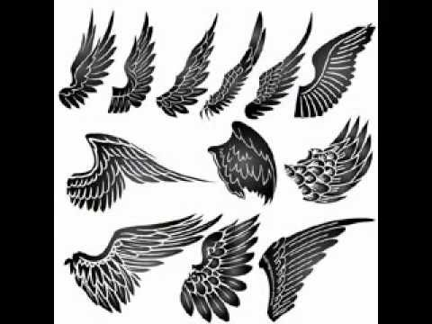 c3b2fc800 Angel wings tattoo design - YouTube Angel Tattoo For Women, Tattoos For  Women, Cross