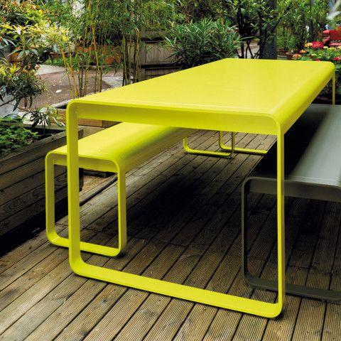 bellevie tisch von fermob bei ikarusdesign | draußen, Gartenarbeit ideen