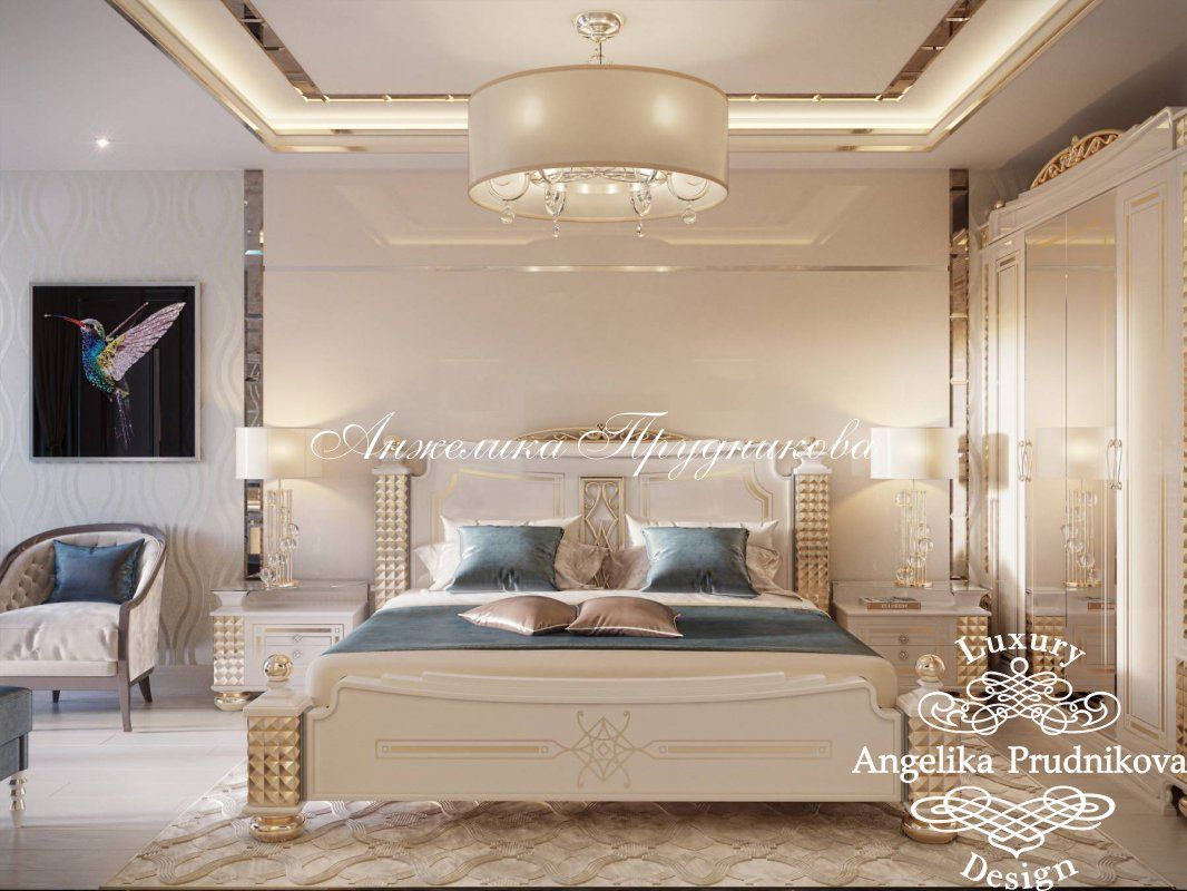 Дизайн проект интерьера квартиры в стиле Ар Деко в г.Сургут. Фото 2017 - Дизайн квартир