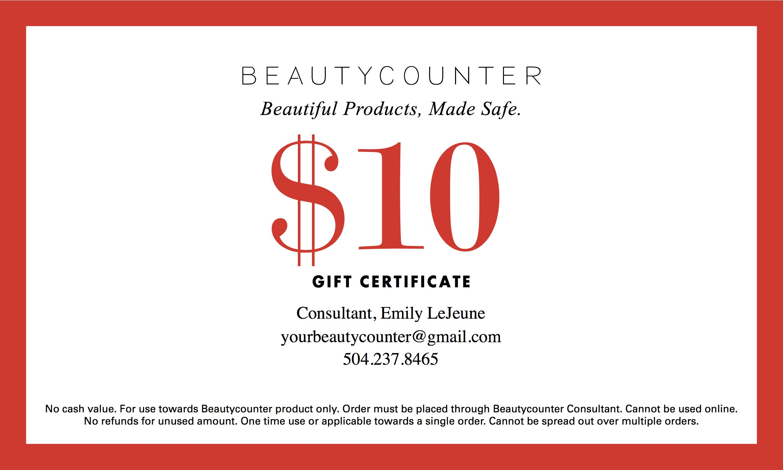 make a gift certificate in word