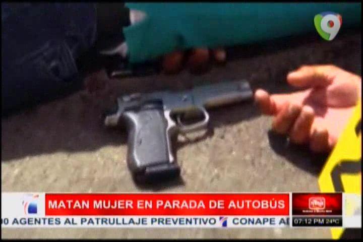Hombre Mata A Mujer En Parada De Autobús De Puerto Plata; Luego Se Suicida